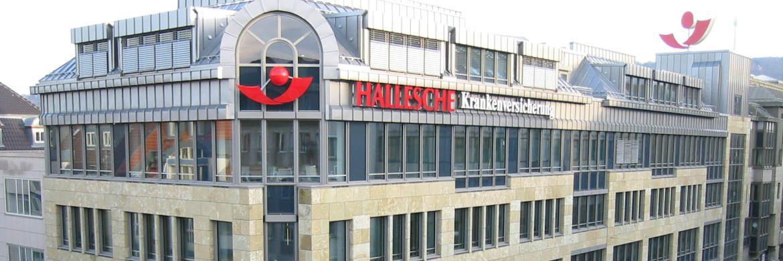Firmensitz der Hallesche Krankenversicherung in Stuttgart|© Alte Leipziger Hallesche