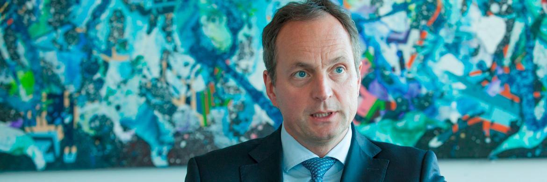 Der neue Vorstandsvorsitzende von Merck Finck Privatbankiers: Matthias Schellenberg|© Florian Sonntag