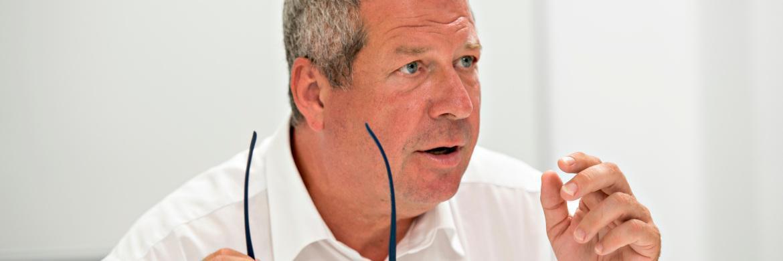 Guido Bartels managt zusammen mit Daniel Stefanetti den Ethna Defensiv|© Uwe Nölke