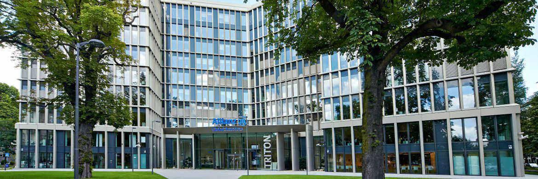 Firmensitz von Allianz Global Investors in Frankfurt: Der Asset Manager der Allianz baut durch Übernahme einer US-Firma aktuell seine Expertise bei alternativen Investments aus|© AGI