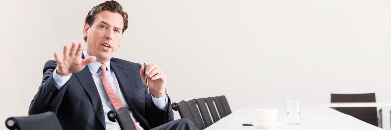 Tobias Warweg, Vorstand von HDI für den Makler- und Kooperationsvertrieb