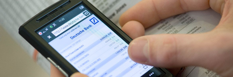 Das Mobile-Banking-Angebot der Deutsche Bank AG|© Deutsche Bank