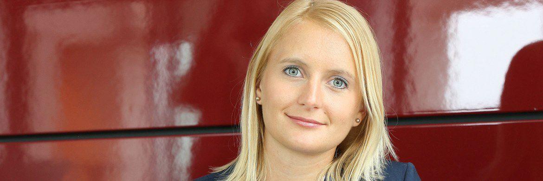 Kristina Salzwedel, Produktmanagerin für Berufsunfähigkeitsversicherungen beim VOLKSWOHL BUND