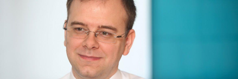 """Redner Wolfgang Bauer ist die """"deutsche Stimme"""" im Londoner Fixed-Income-Team. Als Experte für US-Unternehmensanleihen unterstützt er unteranderem den M&G Optimal Income Fund"""