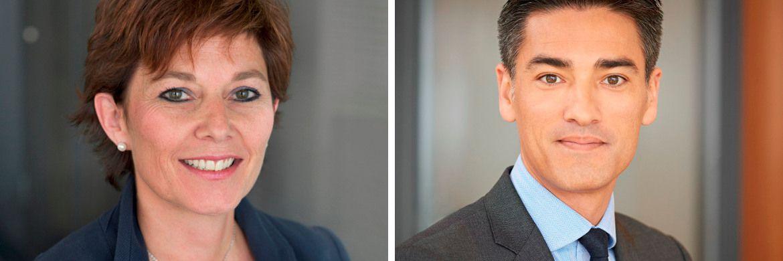 Katia Coudray (l.) und Michael Kenichi Schlieper