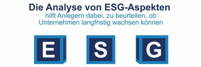 Video von Schroders: Diese Bedeutung hat ESG für Anleger