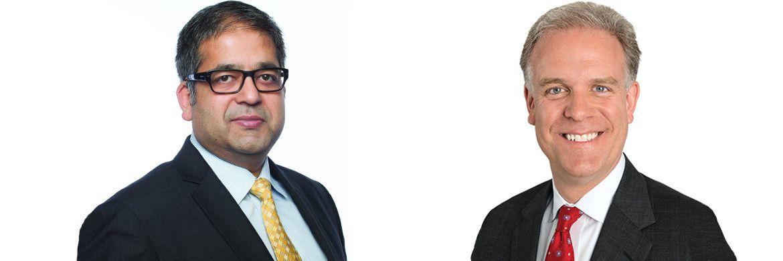 Ajay Jain (l.) und Erik Knutzen