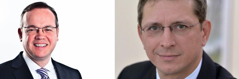 AfW-Vorstände Frank Rottenbacher (li.) und Norman Wirth