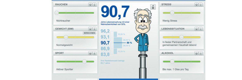 Wie alt werden Sie?|© Deutsches Institut für Altersvorsorge