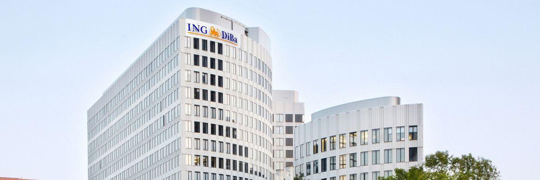 Sitz der ING Diba in Frankfurt.