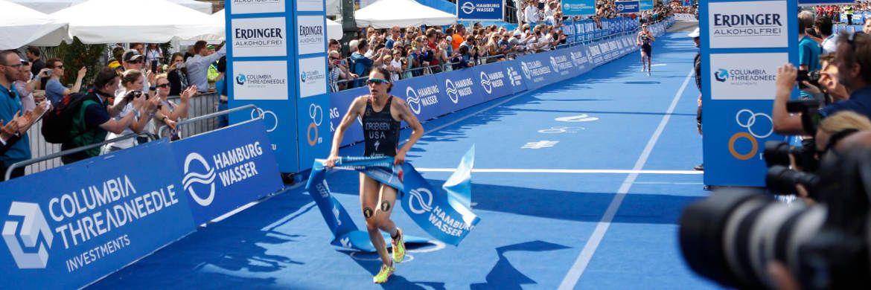 Die auch am deutschen Fondsmarkt vertretene Columbia Threadneedle Investments sponsert seit drei Jahren den ITU World Triathlon Hamburg.|© Columbia Threadneedle