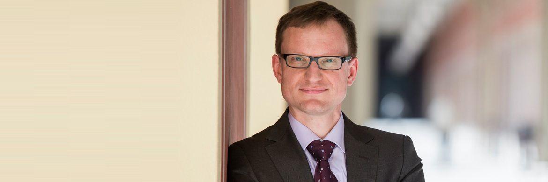 Marc-Oliver Lux, Geschäftsführer von Dr. Lux & Präuner in München