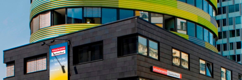 Die VZBV-Zentrale in Berlin|© Verbraucherzentrale Bundesverband e.V.