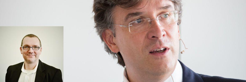 Ulf Becker (kleines Bild) steht zukünftig Vorstand und Fondsmanager Frank Fischer als Co-Investmentchef zur Seite|©  Großes Bild: C. Scholtysik/P. Hipp