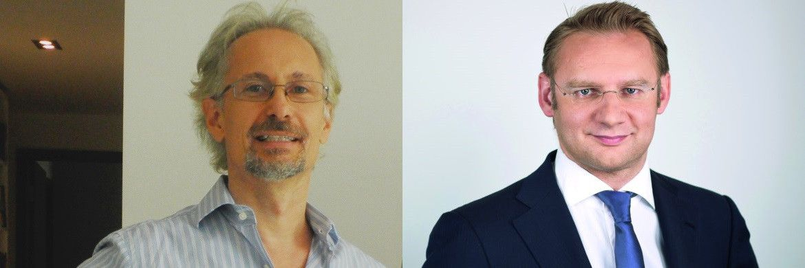 Zweite Chance für 2017: Christofer Rathke, Berater des LSF Solar & Sustainable Energy Fund (links) und Eckhard Sauren, Manager des Sauren Absolute Return