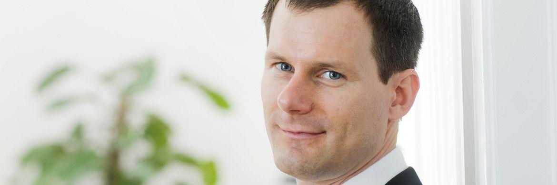 Gané-Vorstand Henrik Muhle