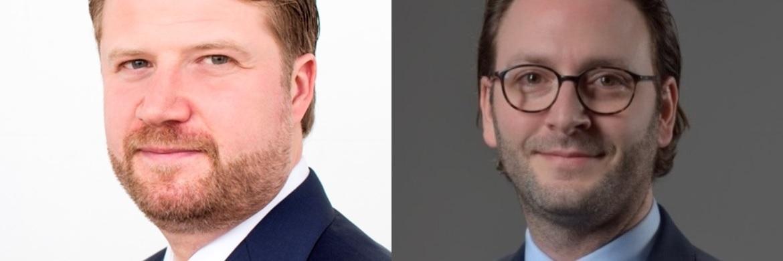 Thilo Wolf (links), Deutschlandchef von BNY Mellon Investment Management, und Christian D'Amico (rechts), neuer Director Institutional & Wholesale Sales in der deutschen Niederlassung von BNY Mellon IM