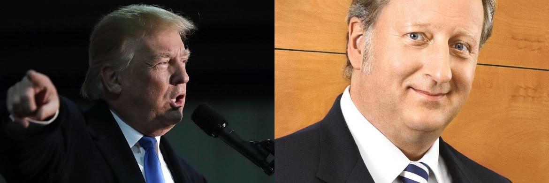US-Präsident Donald Trump (Foto: Getty Images, l.) und Folker Hellmeyer, Chefanalyst der Bremer Landesbank