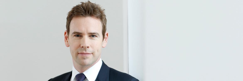 Jan Ehrhardt, stellvertretender Vorstandsvorsitzender von DJE Kapital