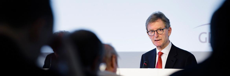 Alexander Erdland auf der Jahrespressekonferenz des Gesamtverbands der Deutschen Versicherungswirtschaft (GDV)|© GDV