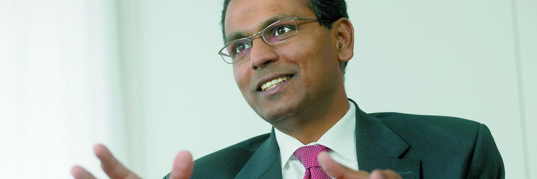 Rajiv Jain, Vorstand und Investmentchef der Investmentboutique GQG Partners