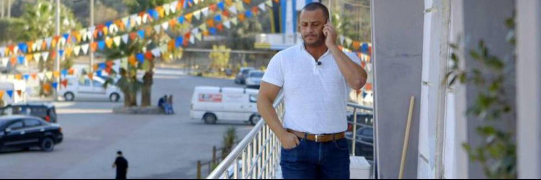 Szene aus einem Dokumentarfilm über Mehmet Göker