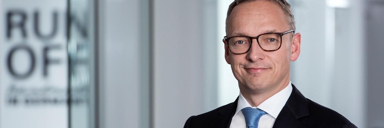 Arndt Gossmann, Vorsitzender des Vorstands der Darag