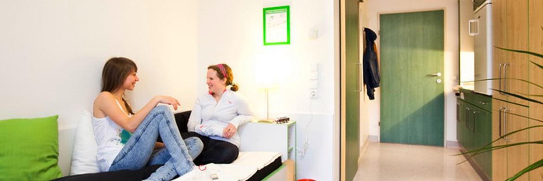 Zimmer im Internationalen Studentenhaus Innsbruck: Die Marktnische Studentenwohnungen hat Potenzial. © Pixabay