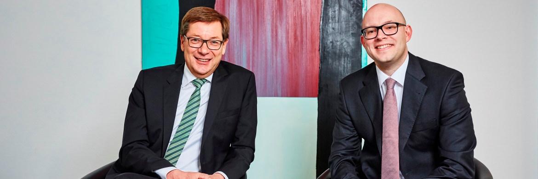Gründer Matthias Habbel (links) und Fondsmanager Carsten Garbers von Habbel, Pohlig & Partner|© Sebastian Reimold