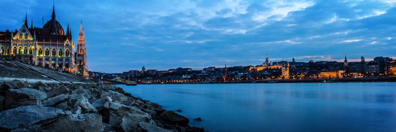Blick auf die Donau in der ungarischen Hauptstadt Budapest|© musicFactory lehmannsound
