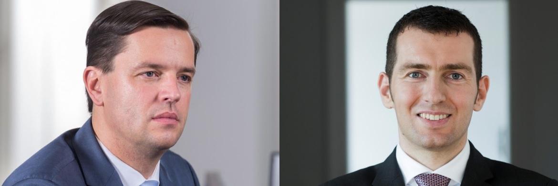 Performance-Schere seit 2014 weit geöffnet: Markus Wedel, Geschäftsführender Gesellschafter bei SPSW Capital (links) und Gané-Vorstand Uwe Rathausky