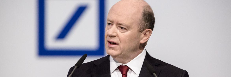 Vorstandsvorsitzender John Cryan auf der Hauptversammlung der Deutsche Bank AG 2016|© Mario Andreya, Deutsche Bank AG