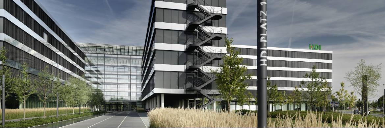 HDI-Gebäude in Hannover: Laut Ratingagentur Franke und Bornberg hat sich der Versicherer im BU-Bereich gegenüber dem Vorjahr verbessert|© HDI/Thomas Bach