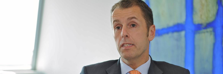 Hans Joachim Reinke, Vorstandsvorsitzender der Union Asset Management Holding