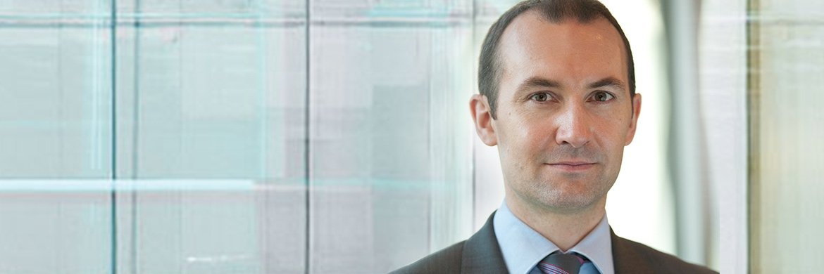 Daniel Roberts, Manager des Fidelity Global Dividend Fund