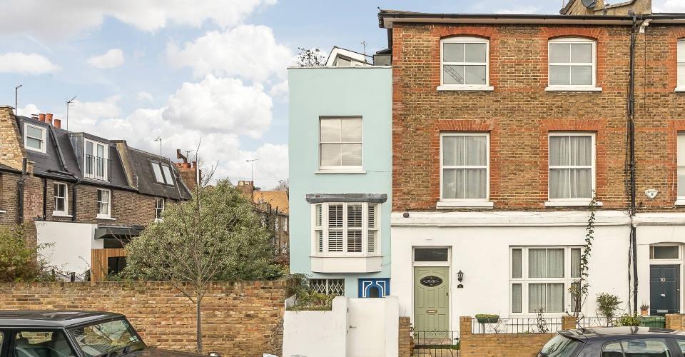 Das schmalste Haus Londons: 30 Quadratmeter für eine Million Euro