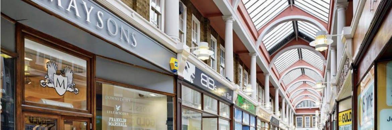 Das Londoner Shoppingcenter Queensgate ist  im Portfolio der paneuropäischen Core-Strategie von Invesco Real Estate