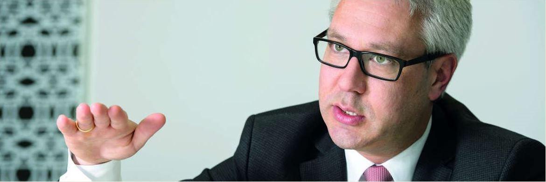 Robert Stolfo ist Managing Director bei Invesco Real Estate|© Sebastian Widmann