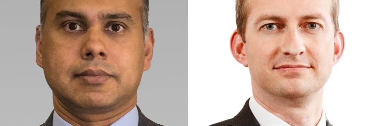 Asset Manager von AB: Tawhid Ali (links) und Andrew Birse (rechts)