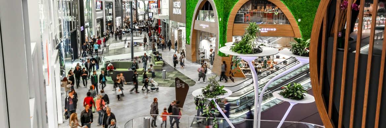 Shoppingcenter von UnibailRodamco in Mönchengladbach: Die Immobilienaktie ist im Portfolio des Global Income Fund|© Unibail-Rodamco Germany