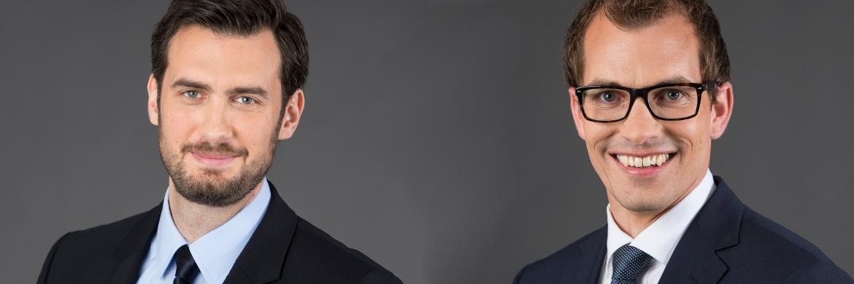 Goran Vasiljevic (l.) und Steffen Ulshöfer