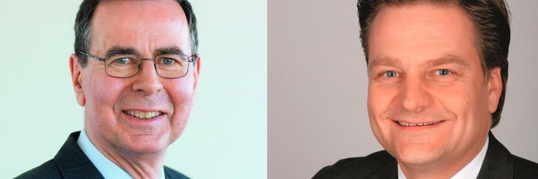 Meiden konsequent Risiken auf der Zinsseite: Deutsche-AM-Manager Klaus Kaldemorgen (links) und Frank Lübberstedt, Vorstand Ehrke und Lübberstedt AG in Lübeck