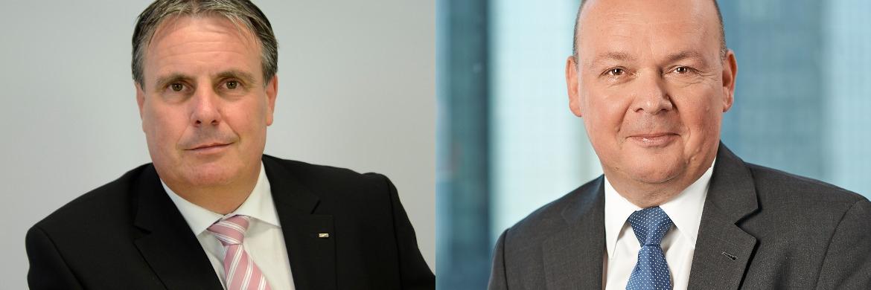 Peter Härtling von der Deutschen Gesellschaft für Ruhestandsplanung (l.) und Swen Köster von der Fondsplattform Moventum