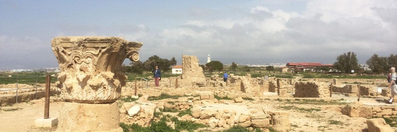 Der archäologische Park von Kato Paphos ist eine der wichtigsten archäologischen Ausgrabungsstätten Zyperns.