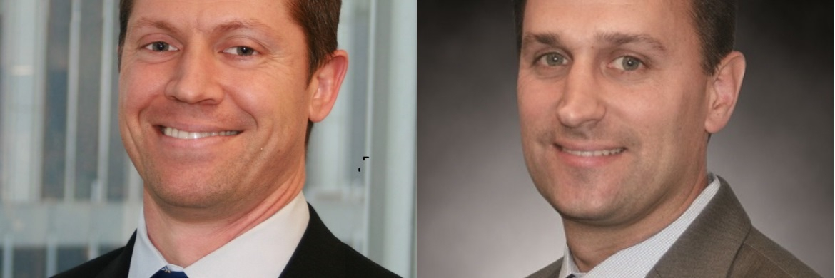 Jeremy Raccio (links), Fondsmanager des UBS Equity US Total Yield, und Grant Bughmann (rechts), Fondsmanager des UBS Equity USA Growth