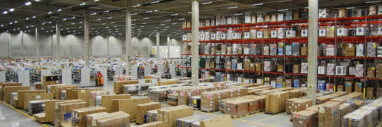 Amazon-Lagerhalle in Bad Hersfeld: Der Online-Handel beflügelt den Markt für Logistikimmobilien|© Amazon