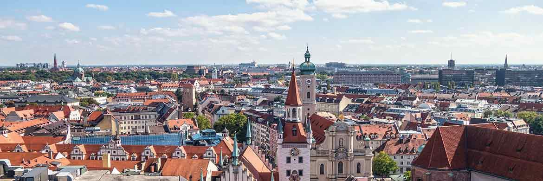 München ist Spitzenreiter bei den durchschnittlichen Mieten in sehr guten Wohnlagen