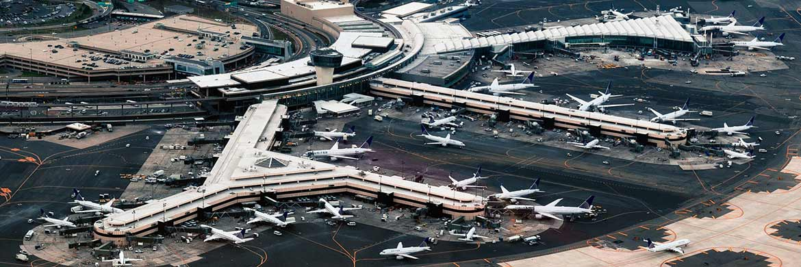 Der Newark Liberty International Airport im US-Bundesstaat New Jersey