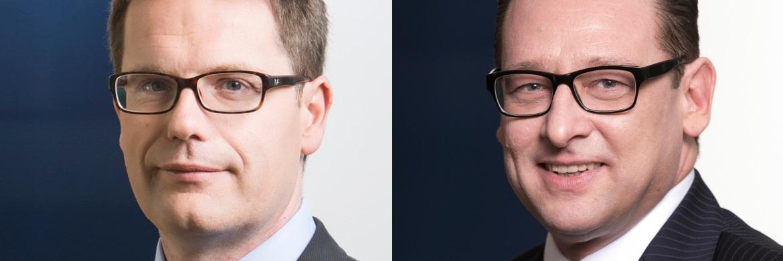 Fondsmanager Léon Kirch und frisch gebackener Vertriebschef für die DACH-Region bei ECP Sascha Steinmeier