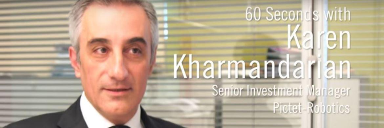 """60 Sekunden mit Karen Kharmandarian über Investments in Robotertechnologie: """"Ich freue mich auf den intelligenten persönlichen Assistenten"""""""